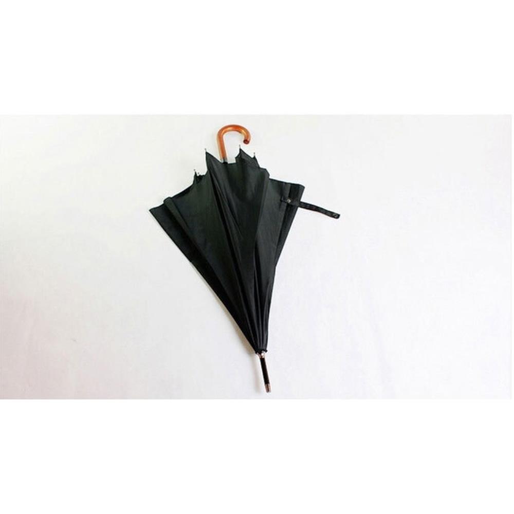 사은품 클래식 심플 얇은 장우산 장마철우산
