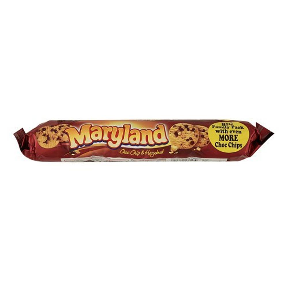 Maryland Chocolate Chip and Hazelnut Cookies 초콜릿 칩 헤이즐넛 쿠키 230g 4팩 1set