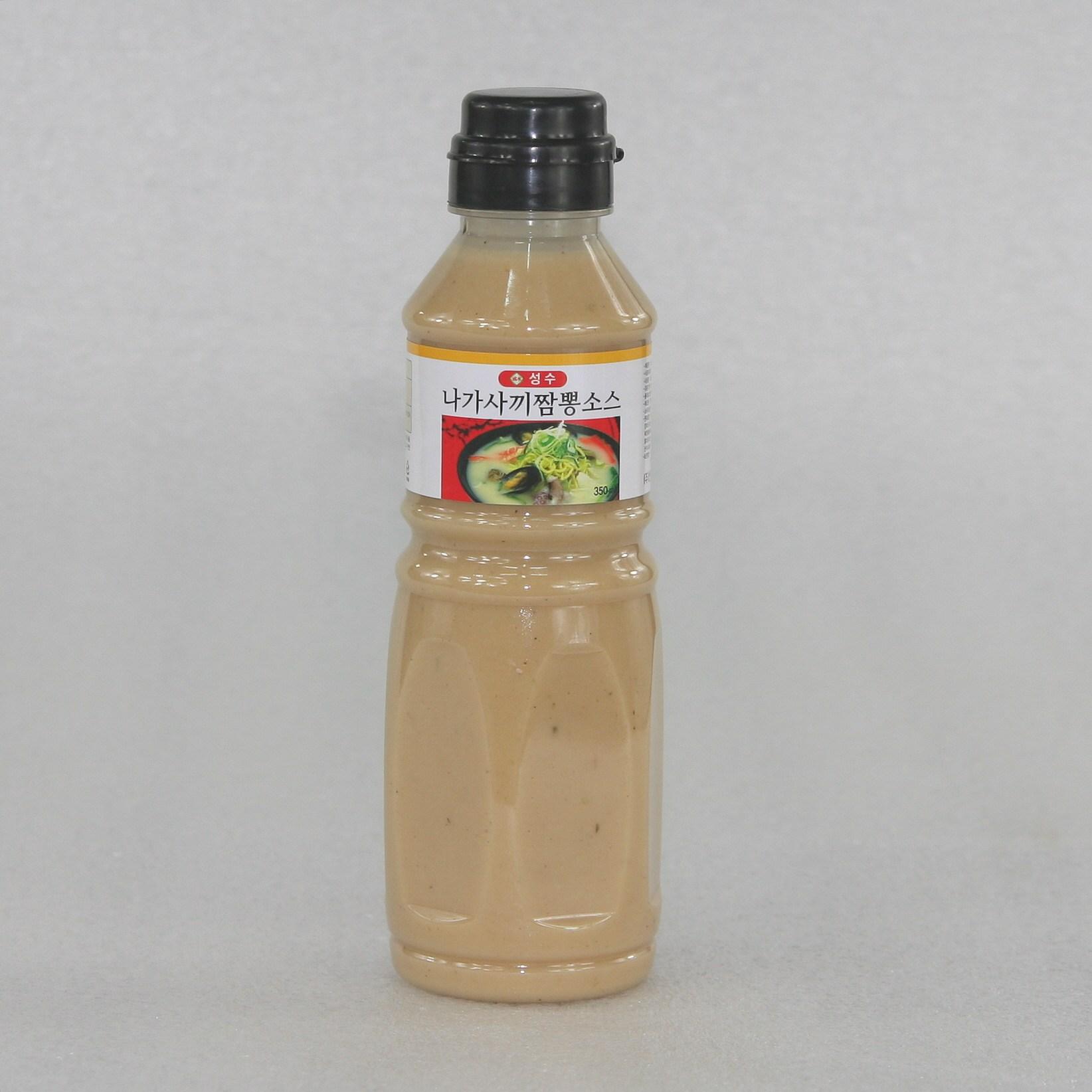 성수 나가사끼짬뽕 소스, 1개, 350ml