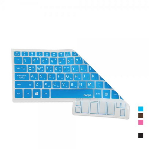 [바보사랑]맥북프로 MQ002KH/A용 문자키스킨, 블루, 선택