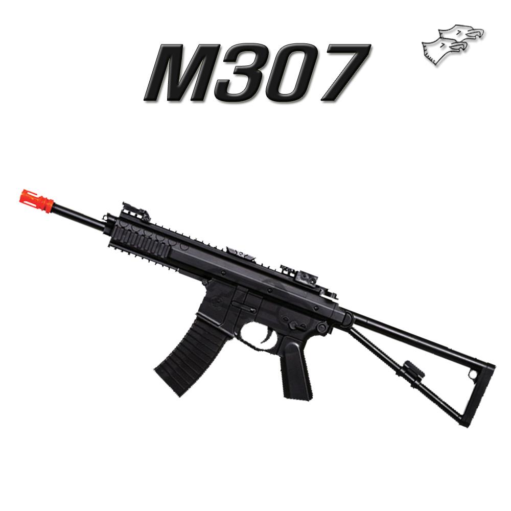 더블이글 M307 에어건 BB탄총, 1개