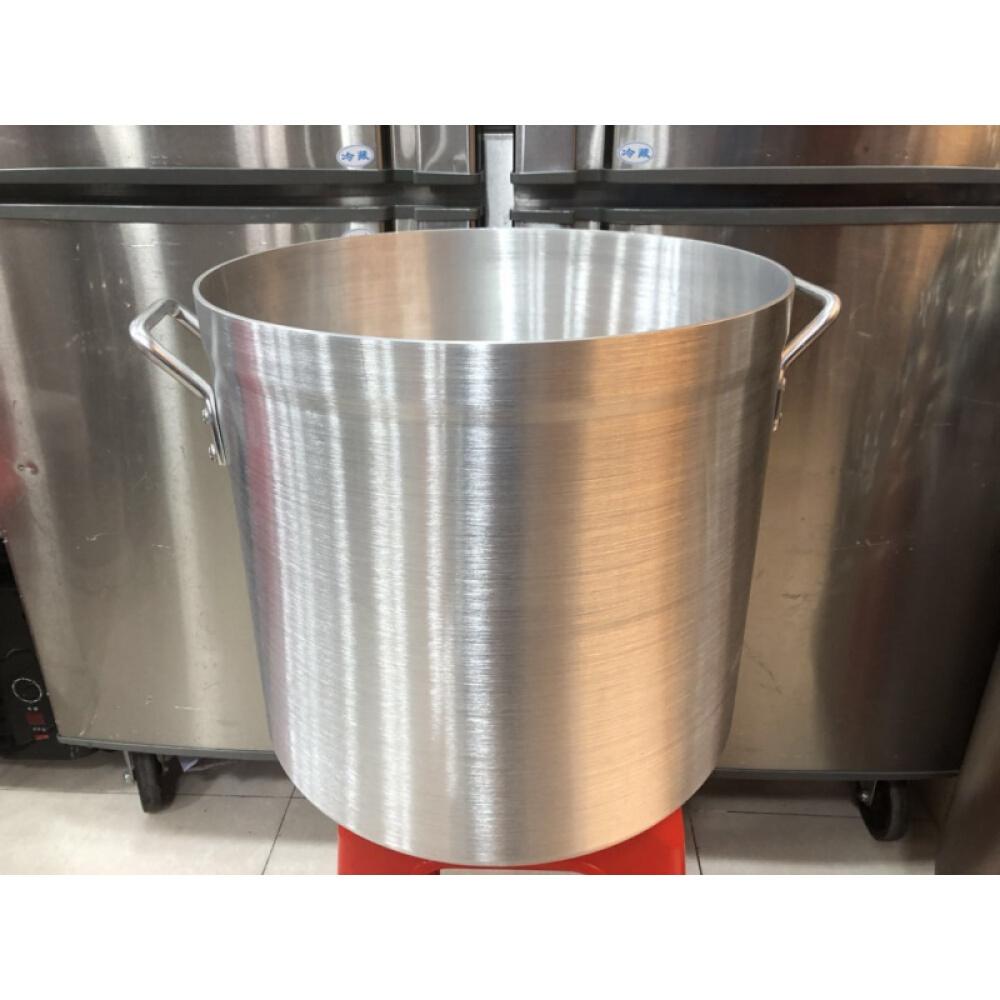 알루미늄 냄비 높 은 몸 알루미늄 수프 배럴 대 용량 알루미늄 냄비 끓 인 죽 알루미늄 냄비 상업 용 24 * 24, 상세페이지 참조, 상세페이지 참조