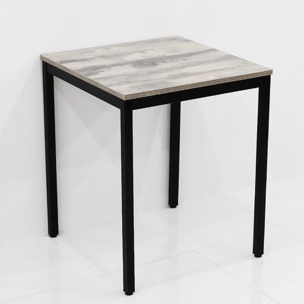 THEJOA 모던테이블 카페 테이블 업소용 입식 식탁 카페/업소용/식탁/컴퓨터책상, 600빈티지그레이