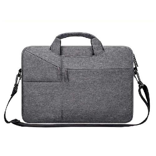 LG그램 맥북 노트북 파우치 크로스 17인치 16인치 15인치 14인치 13인치 케이스 가방 손잡이 삼성 맥북프로 맥북에어 엘지그램, 딥그레이(A타입)