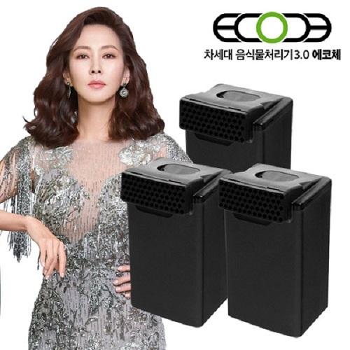 에코체 음식물처리기 ECC-888 정품필터(3세트) (POP 5392648220)