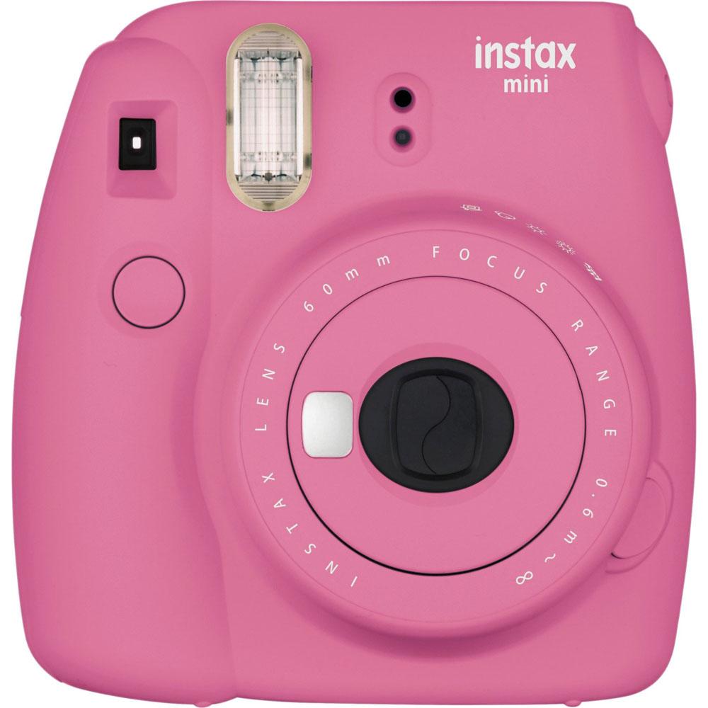 인스탁스 미니9 인스턴트 필름 카메라, Flamingo Pink, 1개