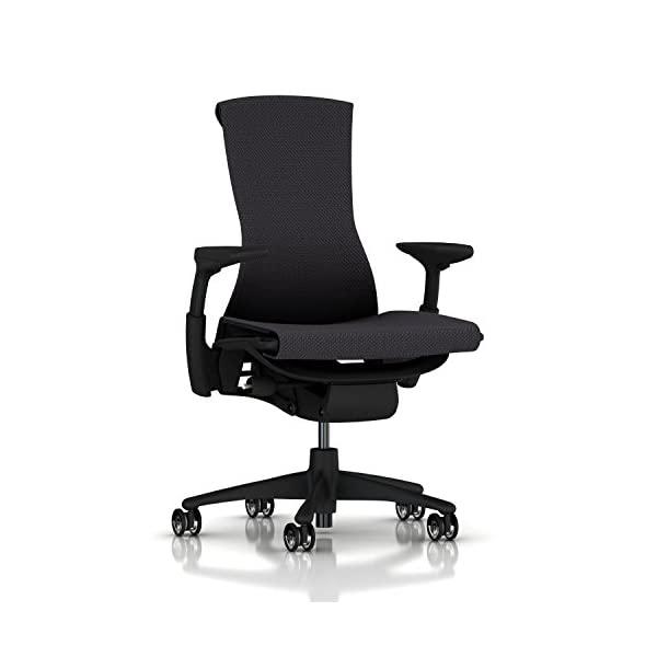 Herman Miller Embody Chair Twilight Rhythm, Carbon Balance