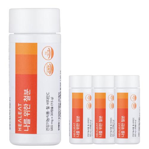 철분 비타민C 500mg x 30캡슐 4개월 임산부 임신 전후 출산후 철분제 빈혈 청소년 영양제