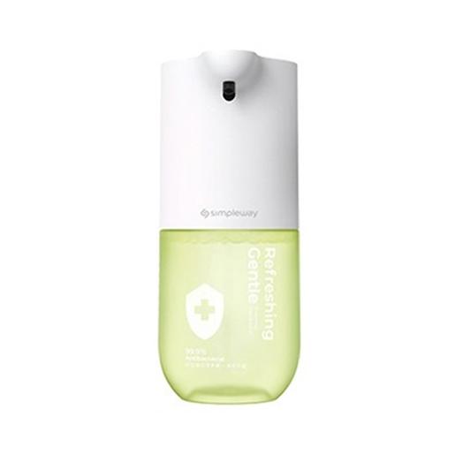 샤오미 simpleway 손세정기 4세대 xiaowei 핸드워시 99% 세균 억제 저전력 센서식 자동 거품 무료배송, 1개, 초록색