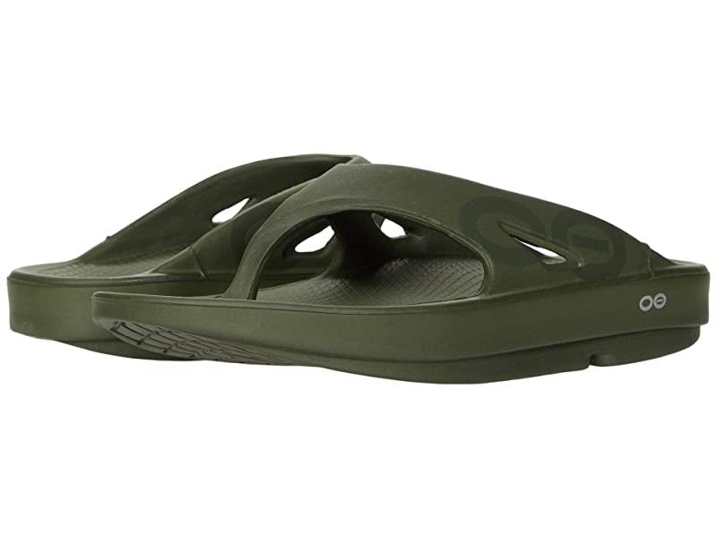 [미국정품] 363046 우포스 남성 슬리퍼 OOFOS OOriginal Sport Sandal - Matte Forest Green