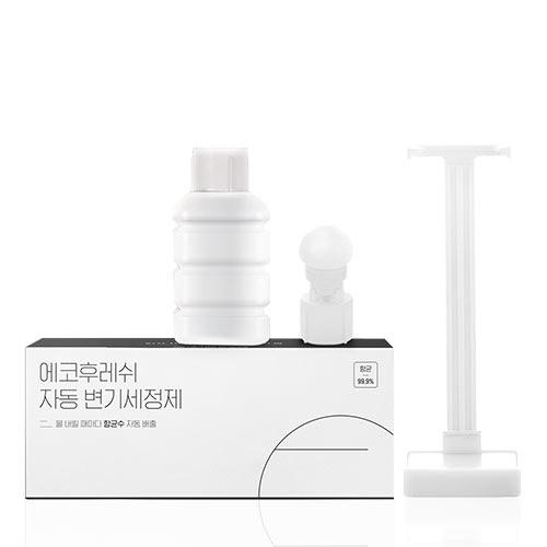 에코후레쉬 투명 자동변기세정제, 자동변기세정제 리필용 2 set, 상세설명 참조