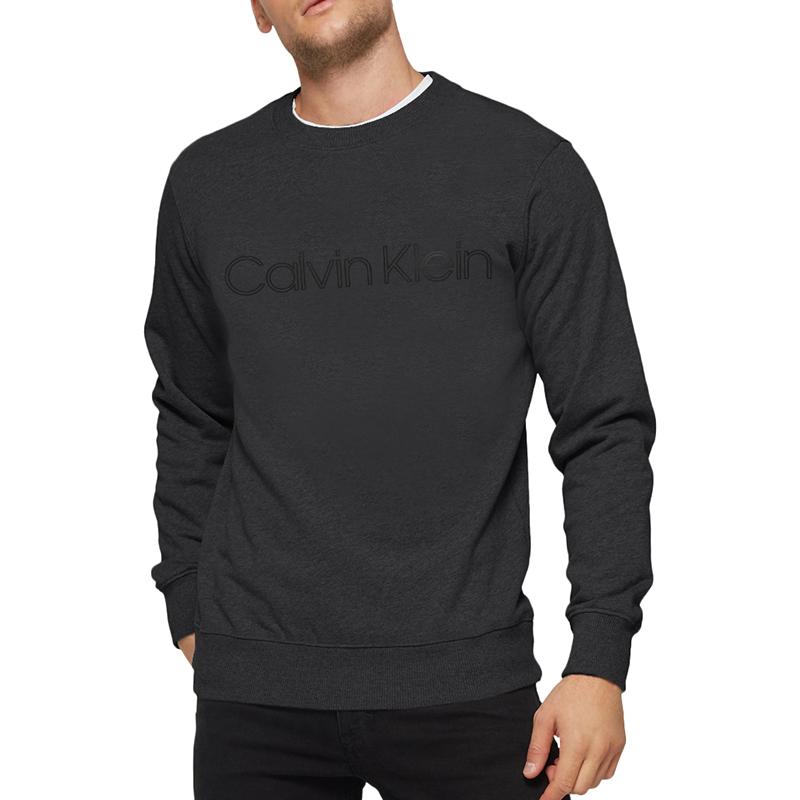 캘빈클라인 남녀공용 플리스기모 맨투맨 (CK054AC-0AW)