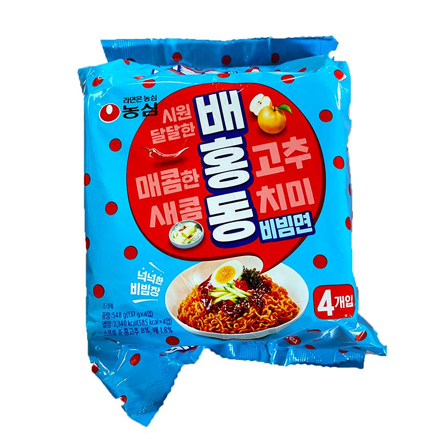 농심 배홍동 비빔면, 20개