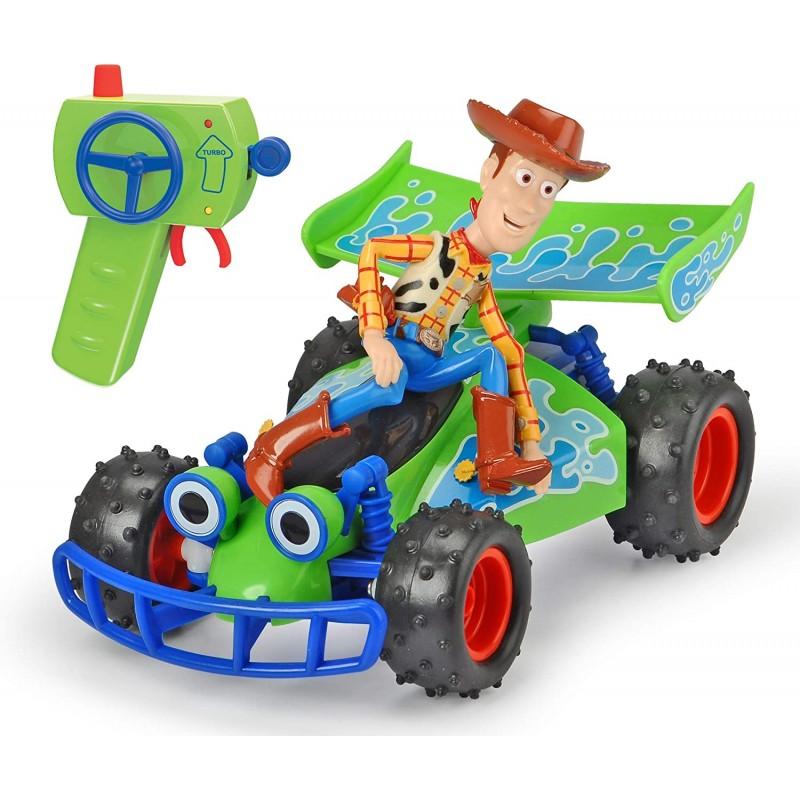 우디 피겨 토이 스토리 리모컨이있는 장난감 자동차 자동차 RC 버기 최대 7.5 km /h 스케일 : 1 :