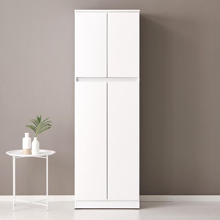 퍼니하우스 헤븐 1800 다용도 주방 부엌 냉장고형 키큰수납장, 화이트