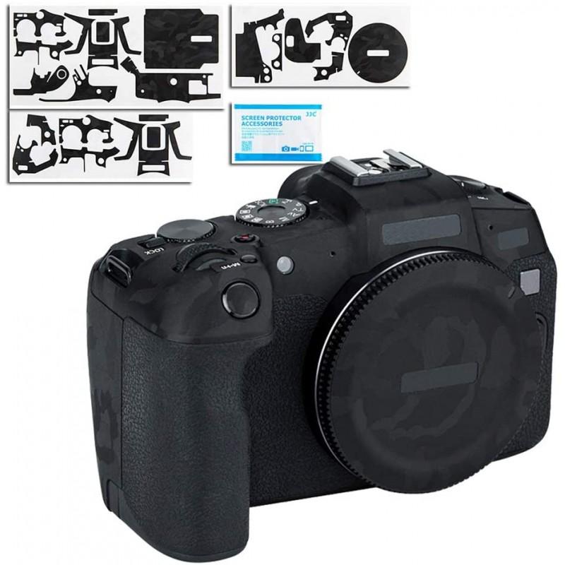 카메라 보호 가죽 필름 캐논 Canon EOS RP EOSRP에 대응 카메라 3M 재료 블랙 위장, 1