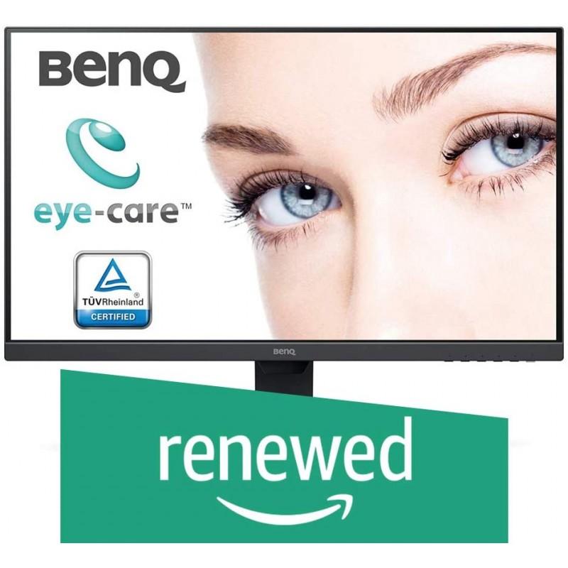 BenQ GW2780 27 인치 1080p 아이 케어 LED IPS 모니터 눈부심 방지 HDMI B.I. 재택 센서-검은 색 (갱, 단일상품