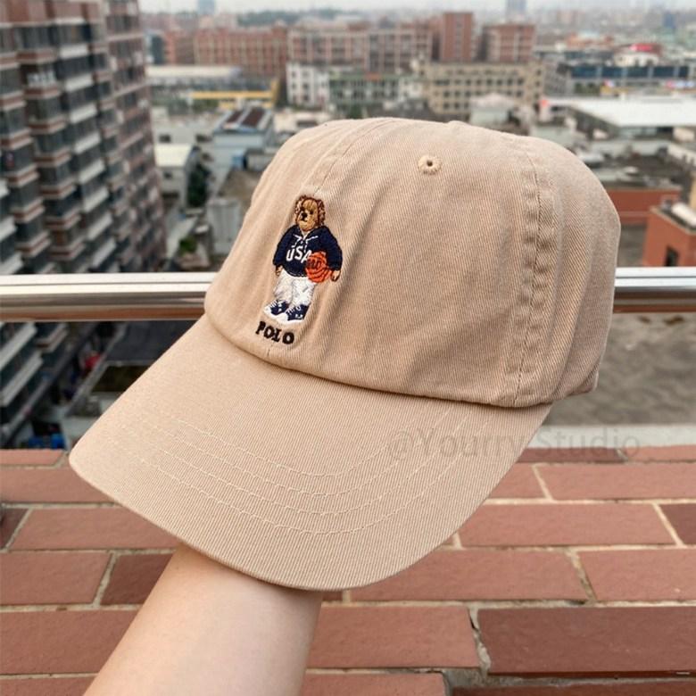 폴로랄프로렌 폴로베어 볼캡 2가지 컬러 2020 new 폴로 곰돌이 모자