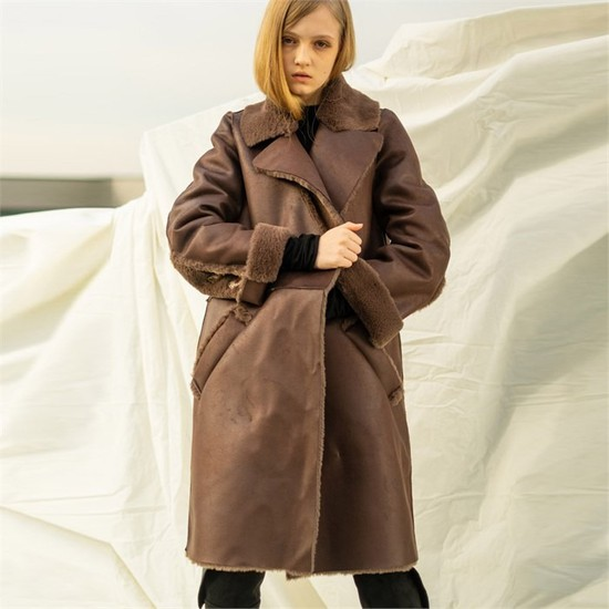 [쏘리투머치러브]Reversible Eco Fur Mustang_Brown[A]