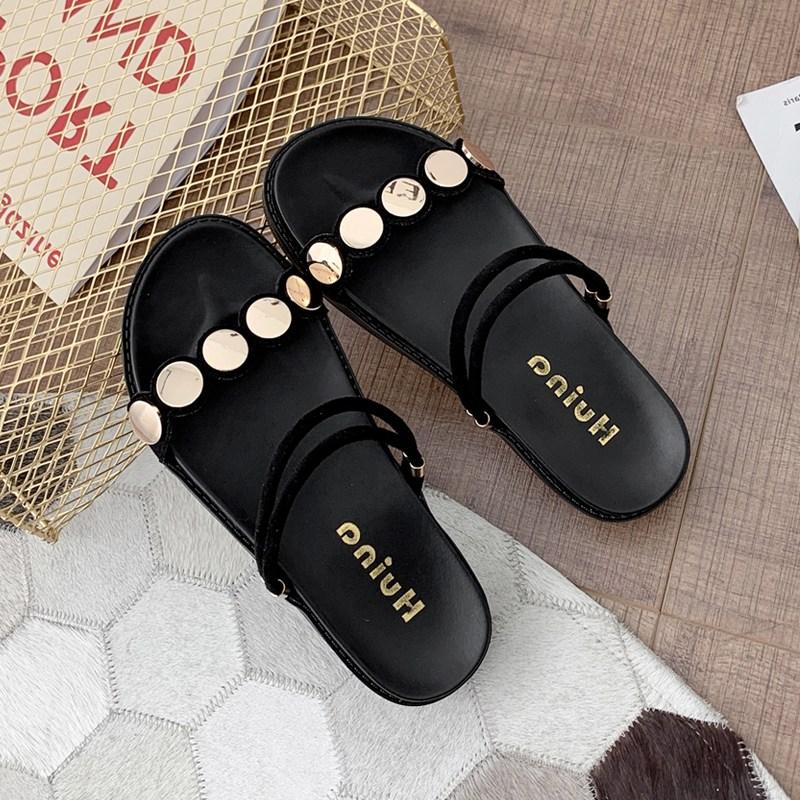 여성샌들힐 여성여름신발 여성슬리퍼 여성스트랩샌들 핏플랍슬리퍼 B02165
