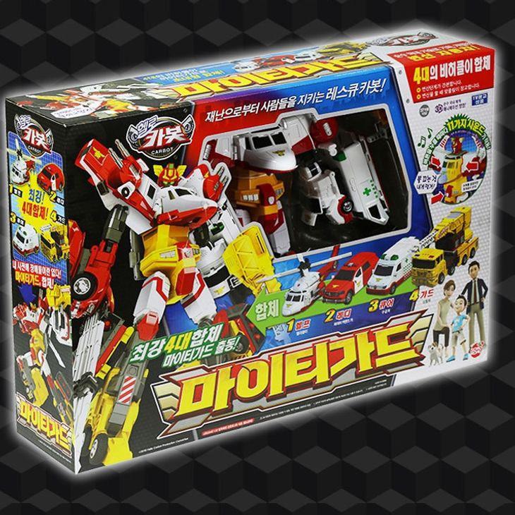 헬로카봇 마이티가드 어린이 장난감 변신 캐릭터 로봇