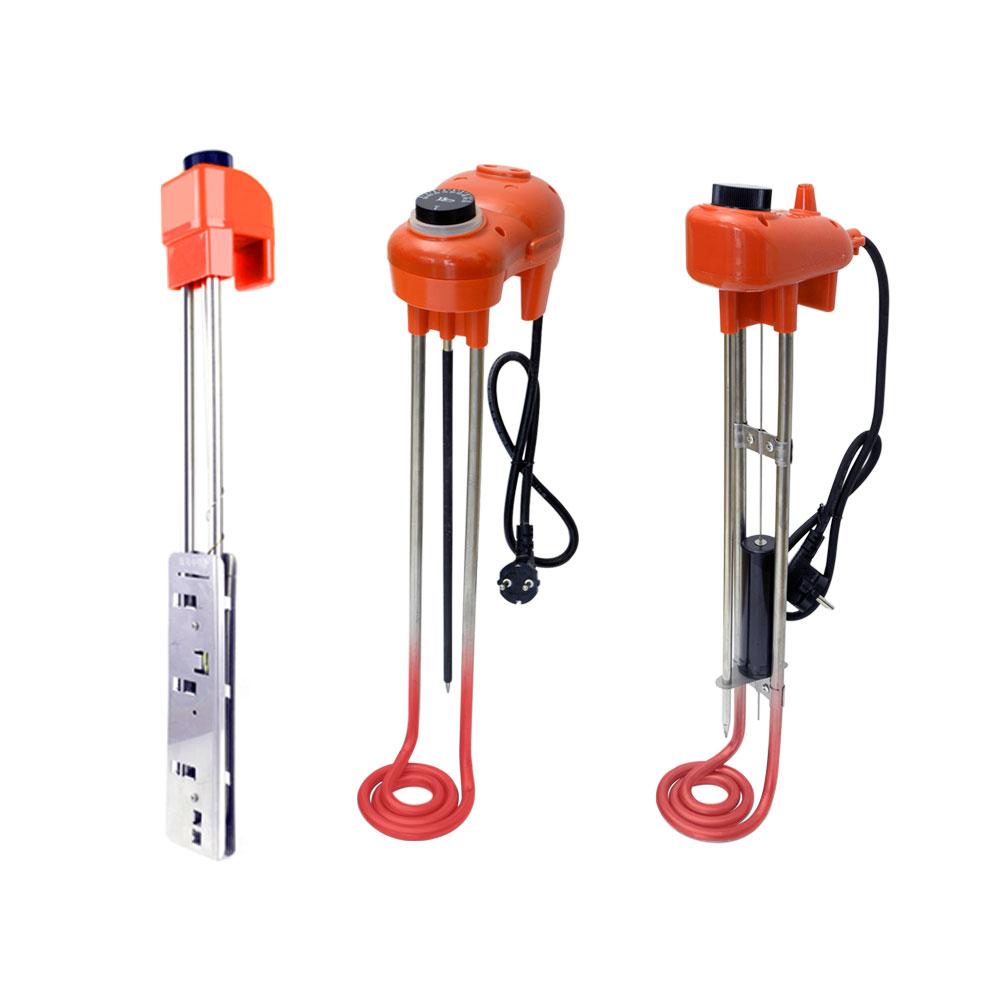 전기온수기 이동형 온수 히터 돼지꼬리히터 30cm / 50cm / 70cm / 100cm, 참좋은히터, 오렌지