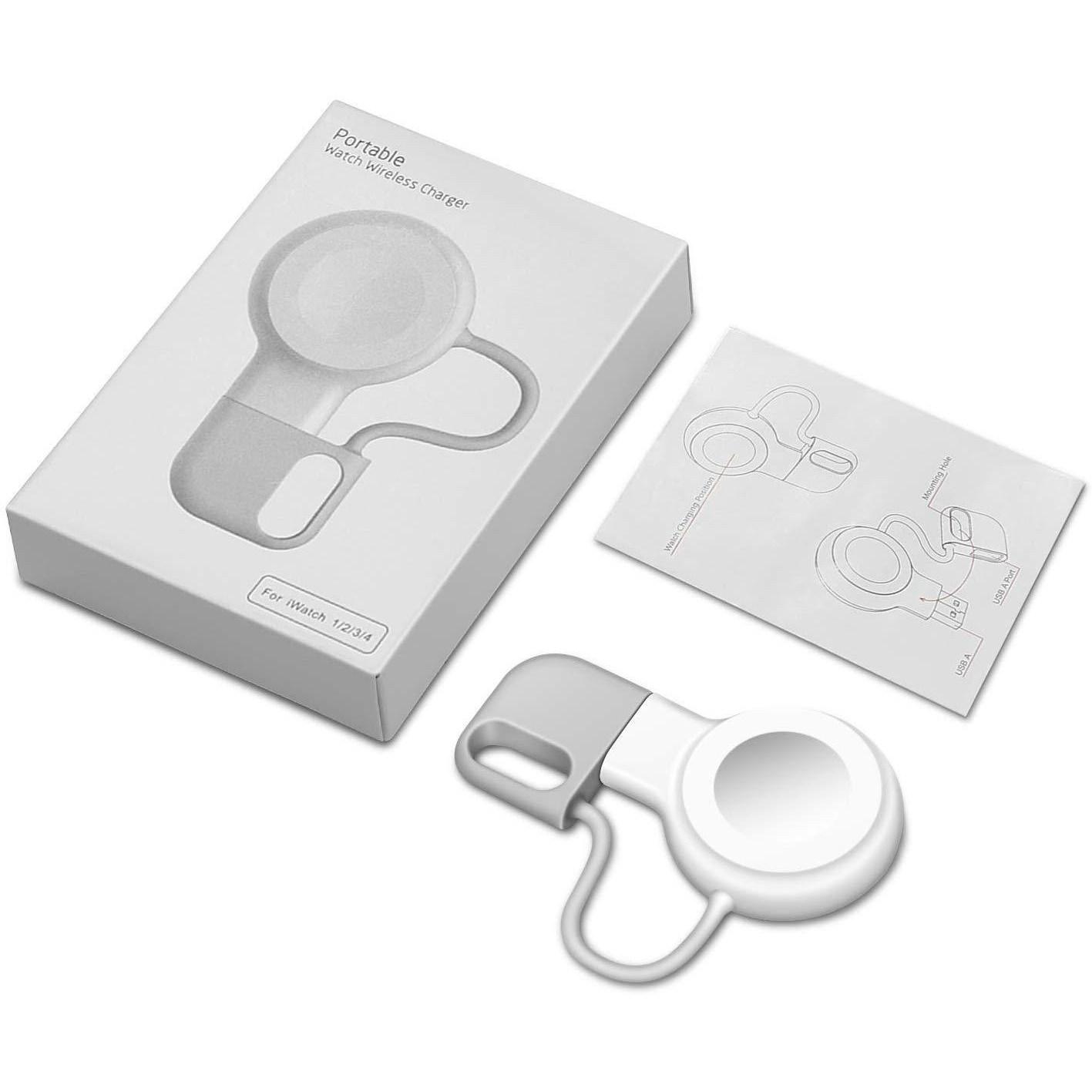 애플워치 마그네틱 usb무선충전기 충전패드 충전독, 1개