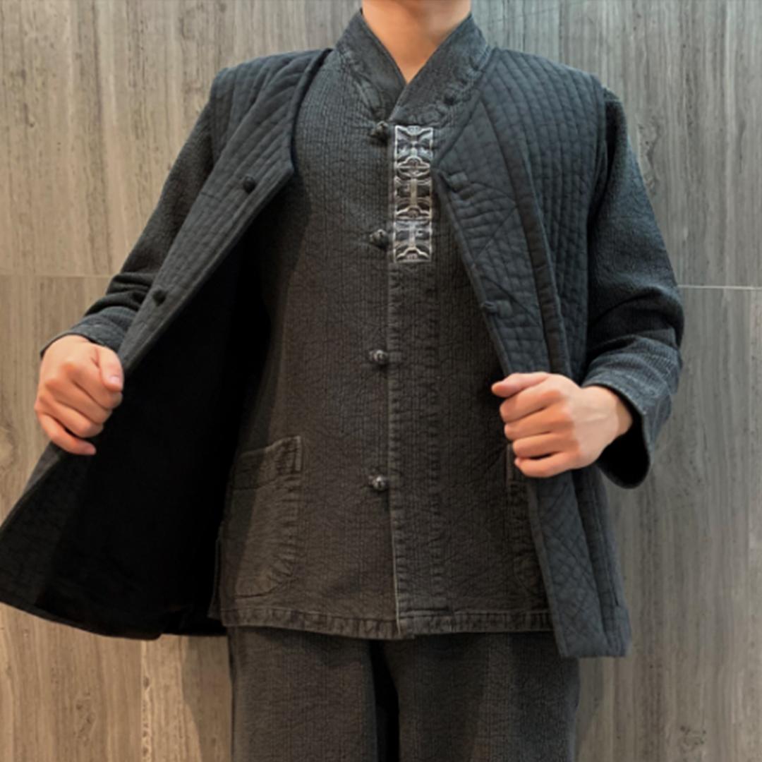 온고지신 춘추용 이중지 3피스 생활한복(개량한복) 2가지색상