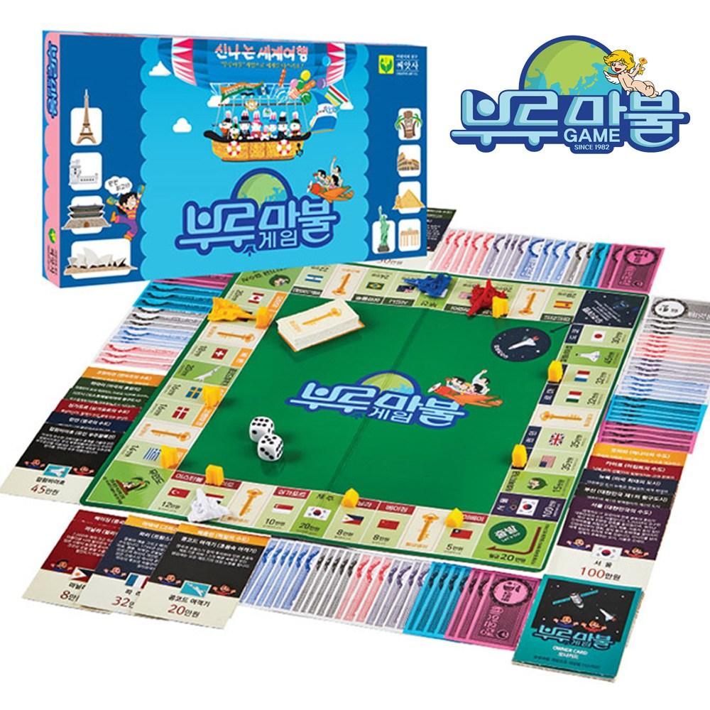 씨앗사 부루마블 보드게임 블루마블 브루마블 인생게임 컴팩트 프렌즈 패밀리, 부루마블 16000 (POP 4711623641)