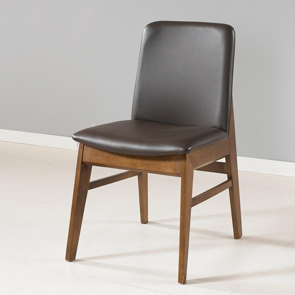 라로퍼니처 로망 원목 식탁의자 인테리어의자 카페의자, 단품