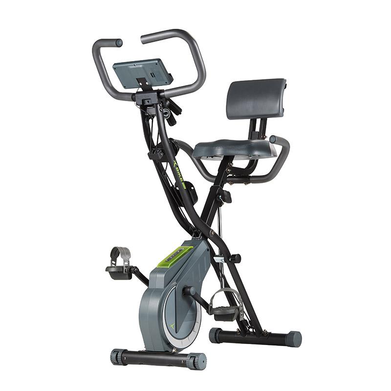 2021년 최신형 6세대 숀리 엑스바이크 플레티넘 실내자전거, 제트그레이