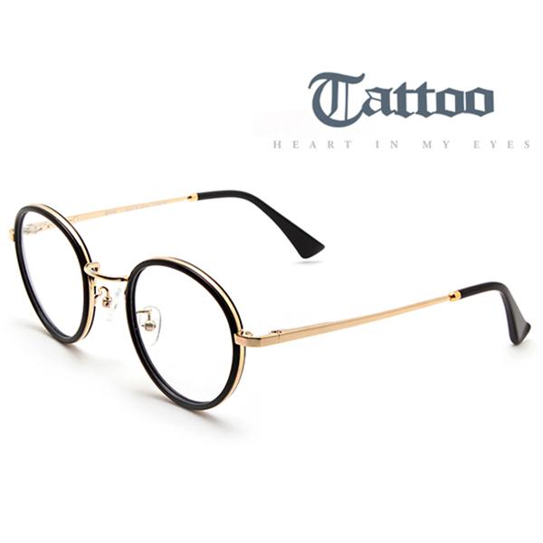 Tattoo 타투 TA7011T 3컬러 티타늄 원형메탈테 고급안경테 정식수입