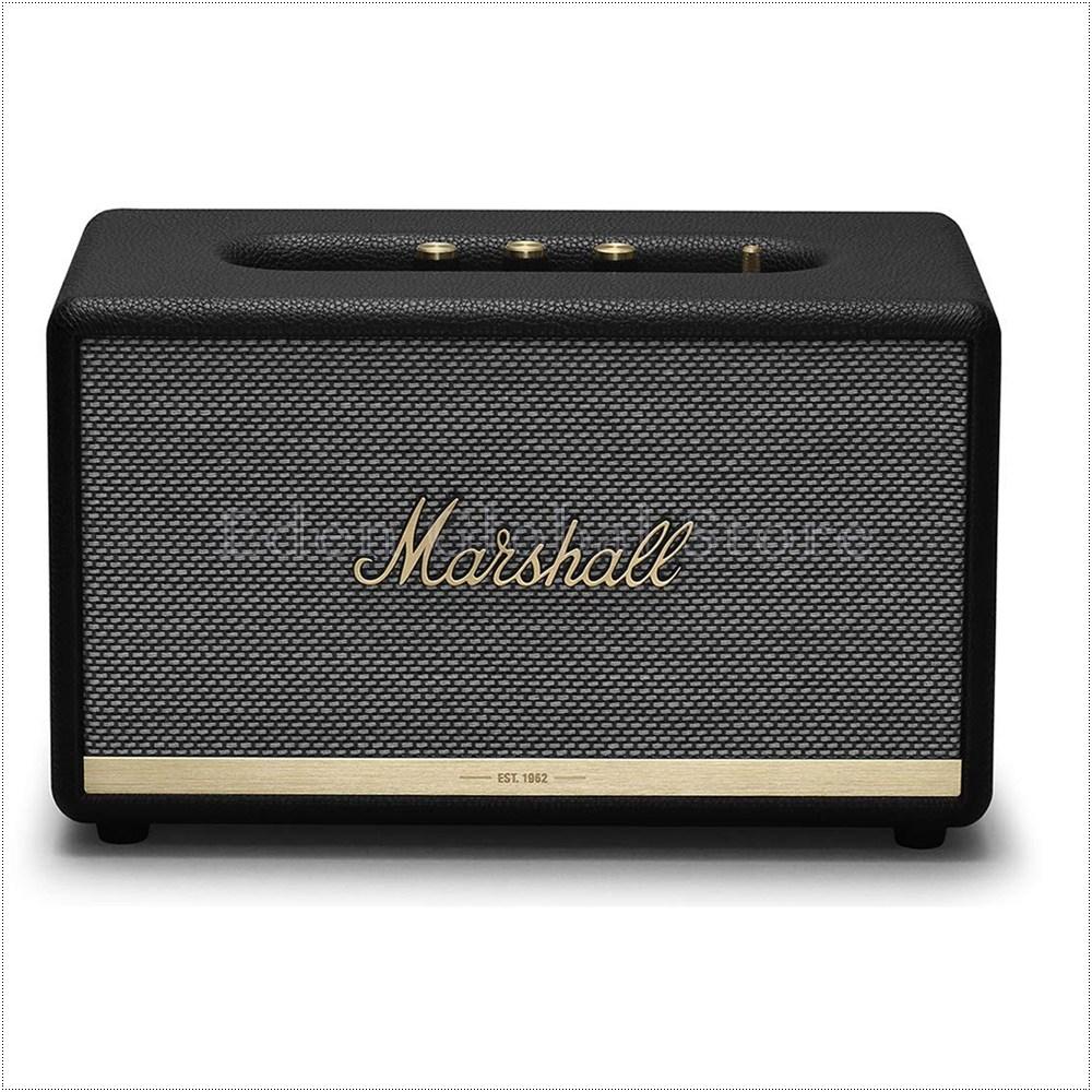 Marshall 마샬 스탠모어2 무선 블루투스 스피커, BLACK 1002485, Stanmore II