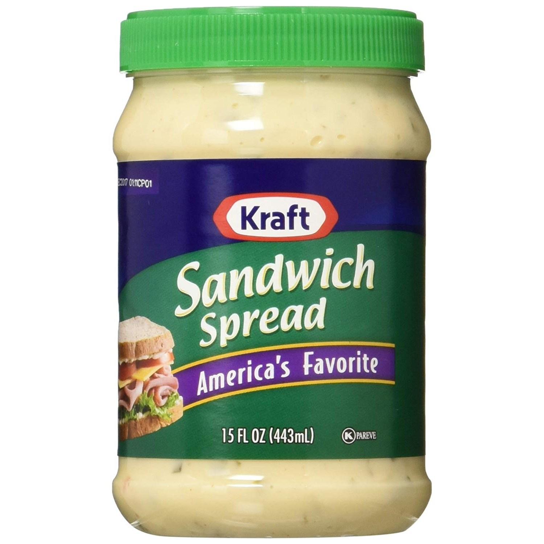 Kraft 샌드위치 스프레드 아메리카스 페이보릿, 1개, 443ml