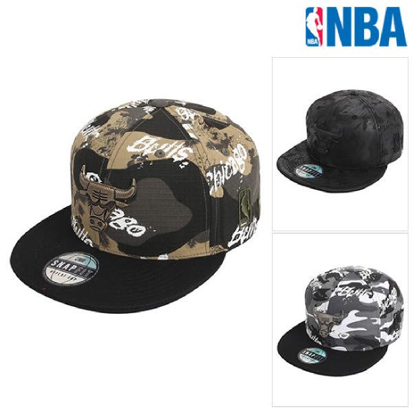 [현대백화점][NBA]엔비에이 N205AP615P 공용 카모플라쥬 캡 모자