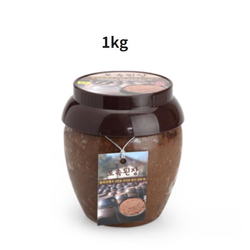 자연발효 국내산 재료 국산콩 전통 장류 골라담기, 4.토속 된장1kg