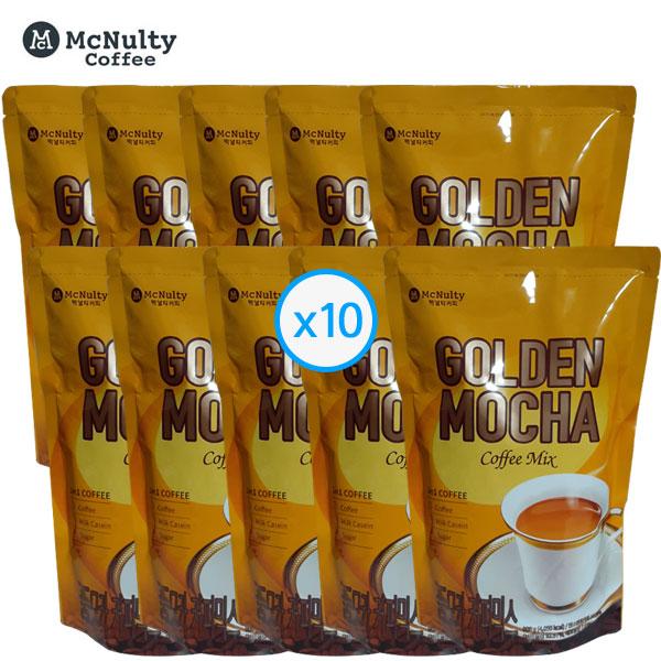 맥널티 달고나커피 자판기용 골든모카 커피믹스 900g x 10개