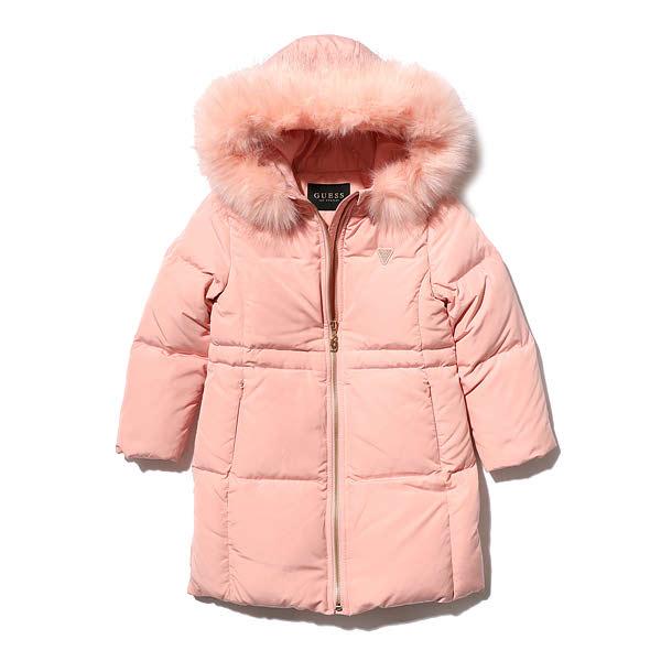 [현대백화점][게스키즈] 현대3 소프트다운 G88KCJ021P2 게스아동 겨울여아롱오리털자켓
