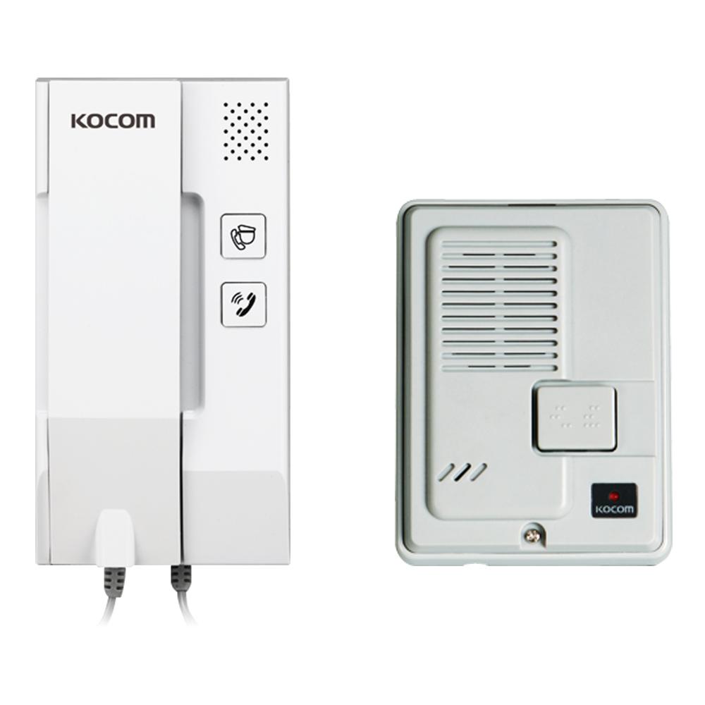코콤 KIP-332A+DS-2D 세트 아날로그 아파트용 인터폰 AC방식, KIP-332A/DS-2D