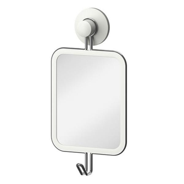 [이케아] IMMELN 거울+후크, 색상:화이트_802.575.10