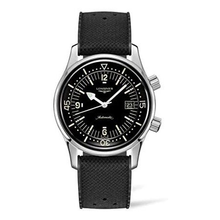 Longines Legend Diver Automatic Mens Watch L3.774.4.50.9 PROD210011151