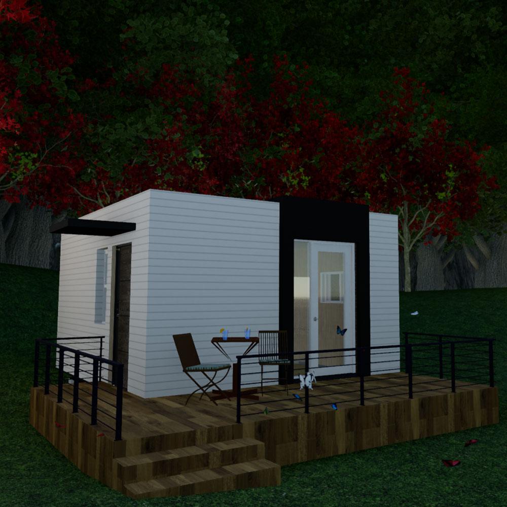 [명당하우스] 6평 이동식 주택 전원주택 세컨하우스 소형주택 농막 농가주택 모듈러주택-2-2309799882