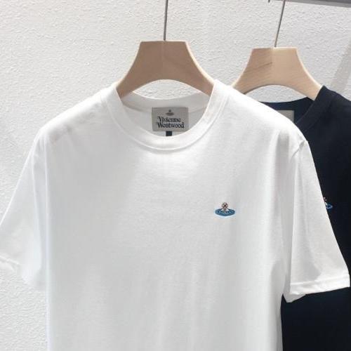 스테이 비비안웨스트우드 남녀공용 반팔 티셔츠