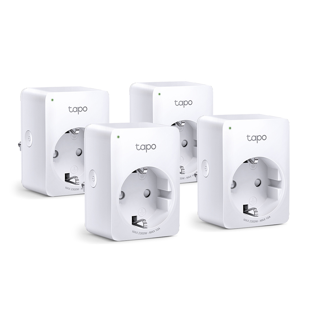 Tapo P100 스마트 와이파이 플러그 콘센트 4pack (POP 5405681950)