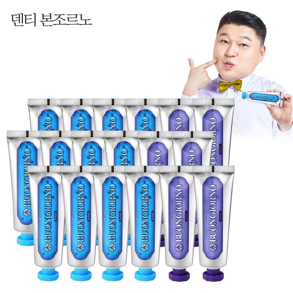 덴티본조르노 치약SET (치석100g 12개+잇몸100g 6개), 1set