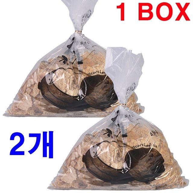 4.5kgx2개국산과자gmpb 9374한박스죽간식구수한누룽지가마솥오래구워쌀영양식백미노인