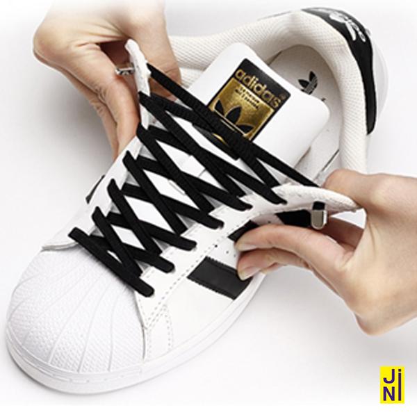 [구매자추천] 1+1 매듭없는 신발끈 캡슐형 컬러 운동화끈