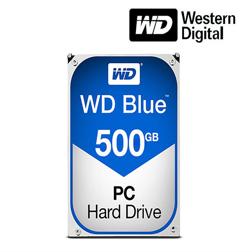 WD 정품 BLUE 500GB SATA3 3.5인치 HDD 7200rpm 데스크탑용 하드 WD5000AZLX (POP 4534421645)