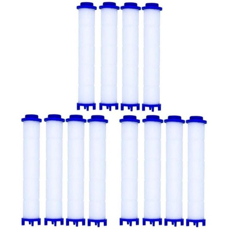 코시나 수압상승 트리플 정수 샤워기 전용 필터, 12개입