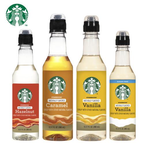 스타벅스 커피시럽 360 ml 4종 / Starbucks Syrup 12.17 oz Bottle, 3. Vanilla, 360ml